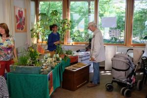 Unser Infostand beim Bruckenwasenfest 2015 im Umweltzentrum Neckar-Fils